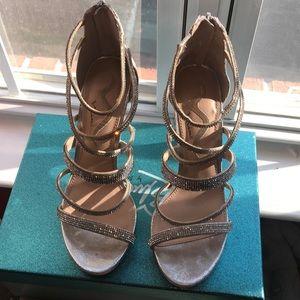 Dressy High Heeled Sandals